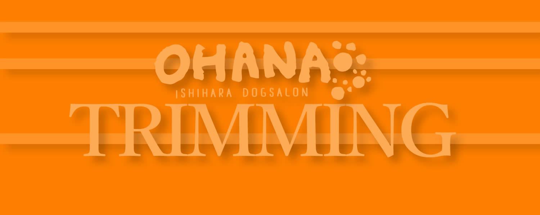 オハナのトリミング料金表